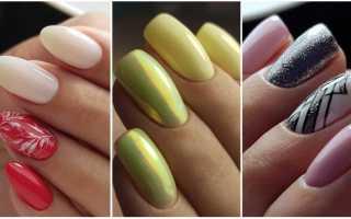 Деловой shellac-маникюр с френчем: маникюр, фото дизайна ногтей