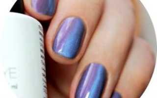 Дизайн с фольгой на темном кошачем глазе: маникюр, фото дизайна ногтей