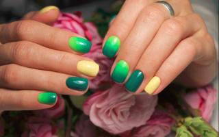Маникюр оливкого цвета: маникюр, фото дизайна ногтей
