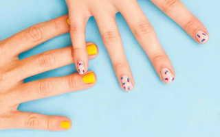 Маникюр на короткие ногти с точками: маникюр, фото дизайна ногтей