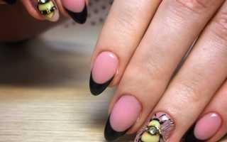 Маникюр с пчелкой: маникюр, фото дизайна ногтей