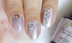 Втирка маникюр с единорогом: маникюр, фото дизайна ногтей