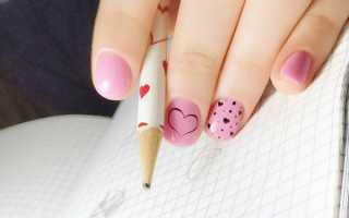 Топ 10 школьных идей маникюра: маникюр, фото дизайна ногтей