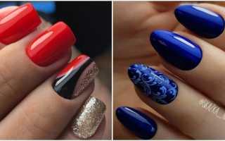 Динамика дизайна на наращенных ногтях: маникюр, фото дизайна ногтей