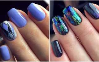 Маникюр на средние ногти: фото дизайна ногтей средней длины гель-лаком и шеллаком