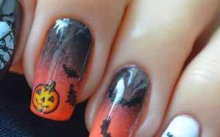 Маникюр на хэллоуин: лучшие фото и идеи рисунков на ногти