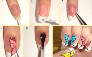 Акриловые краски для ногтей: виды, техники нанесения, идеи дизайна