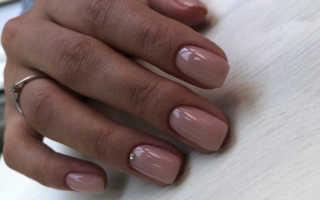 Маникюр фиолетовый с бежевым: маникюр, фото дизайна ногтей