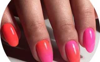 Инкрустация камнями и омбре: маникюр, фото дизайна ногтей