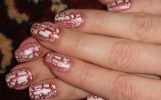 Гель-лак для маникюра кракле: маникюр, фото дизайна ногтей