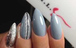 Маникюр светло серый: маникюр, фото дизайна ногтей