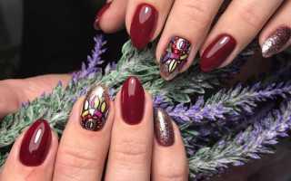 Вечерний маникюр с королевским блеском: маникюр, фото дизайна ногтей