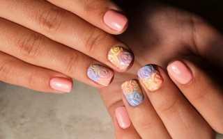Маникюр красный с песком: маникюр, фото дизайна ногтей
