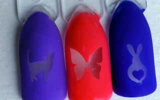 Дип дизайн ногтей: как сделать, где купить трафареты, фото