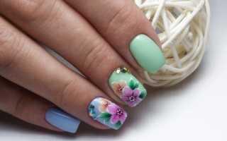 Яркая палитра весенний ногтей: маникюр, фото дизайна ногтей