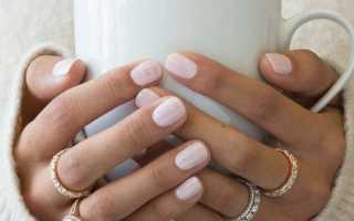 Маникюр светлый с фольгой: маникюр, фото дизайна ногтей