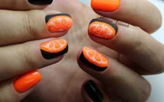Маникюр с фруктами киви: маникюр, фото дизайна ногтей