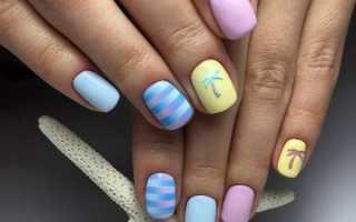 Маникюр на лето 2020: маникюр, фото дизайна ногтей