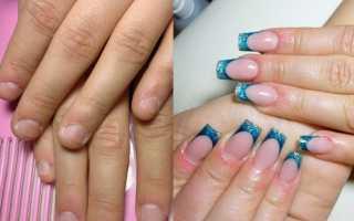 До-после: эксперименты в маникюре: маникюр, фото дизайна ногтей
