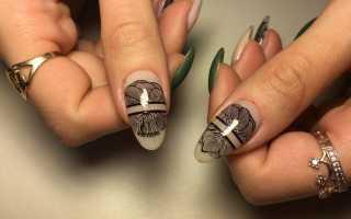 Яркий стемпинг на длинных ногтях: маникюр, фото дизайна ногтей