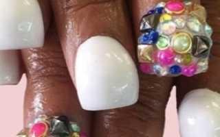 Bubble маникюр, ногти Баббл (bubble nails) фото: трендовый дизайн ногтей «шарики», надутые ногти