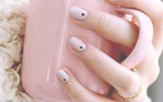 Маникюр зеленый с точками: маникюр, фото дизайна ногтей