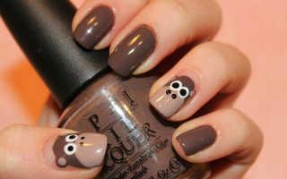 Животные на ногтях: фото, идеи и пошаговые инструкции