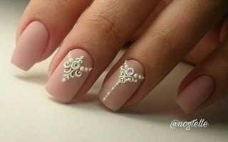 Блестящий свадебный маникюр: маникюр, фото дизайна ногтей