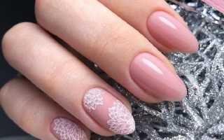 Зимушка-зима на длинных ногтях: маникюр, фото дизайна ногтей