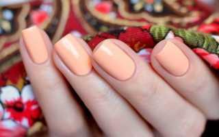 Маникюр персиковый с цветами: маникюр, фото дизайна ногтей