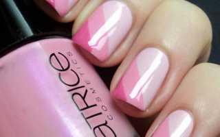 Мими ногти с бантиком и розовым гель-лаком: маникюр, фото дизайна ногтей