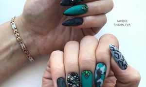 Модный маникюр осень-зима 2020: маникюр, фото дизайна ногтей