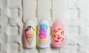 Цветной конфетный маникюр: маникюр, фото дизайна ногтей