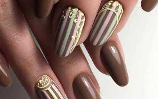 Вертикальные полосы в летнем маникюре: маникюр, фото дизайна ногтей