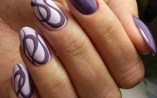 Блеск и схематичные рисунки на коротких ногтях: маникюр, фото дизайна ногтей