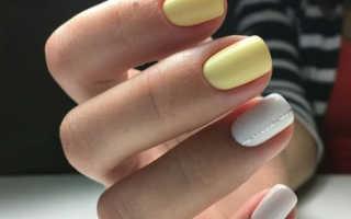 Милый фиолетовый маникюр с цветными блестками: маникюр, фото дизайна ногтей
