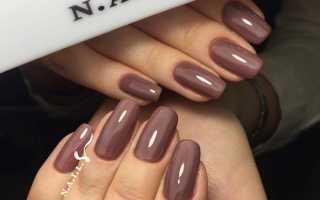 Горький шоколад для длинных ногтей: маникюр, фото дизайна ногтей
