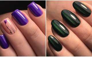 Маникюр гель-лак на длинные ногти: маникюр, фото дизайна ногтей