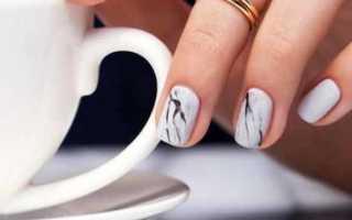 Эффектный контрастный маникюр для casual-стиля: маникюр, фото дизайна ногтей