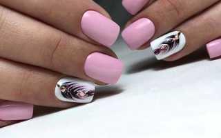 Дизайн Завитки: маникюр, фото дизайна ногтей
