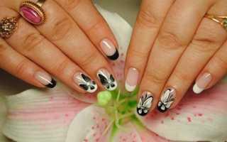 Аккуратный френч на овальные ногти: маникюр, фото дизайна ногтей