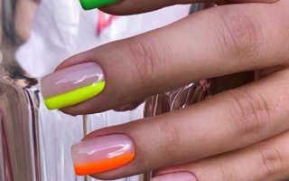 Модный арт маникюр на ногти средней длины: маникюр, фото дизайна ногтей