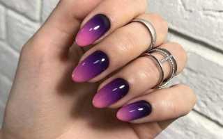 Яркое цветное омбре на лето: маникюр, фото дизайна ногтей