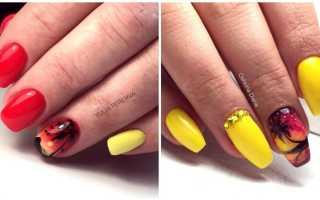 Маникюр с пальмами: маникюр, фото дизайна ногтей