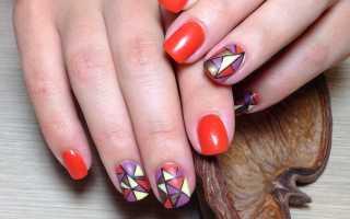 Маникюр для любителей стиля пэчворк: маникюр, фото дизайна ногтей
