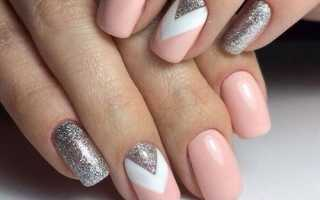 Гель-лак для коротких ногтей: цвета, узоры, советы для модного маникюра