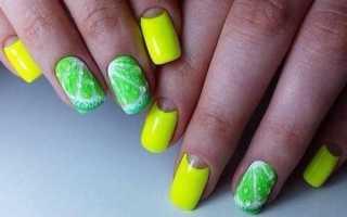 Маникюр зеленый с дизайном: маникюр, фото дизайна ногтей