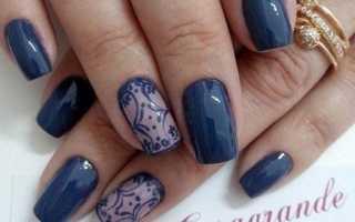 Ажур и френч в милом маникюре: маникюр, фото дизайна ногтей