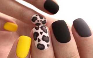Дизайн ногтей разными лаками: маникюр, фото дизайна ногтей