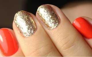 Изумительные узоры блестками: маникюр, фото дизайна ногтей
